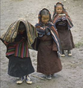 bambine in Dolpo