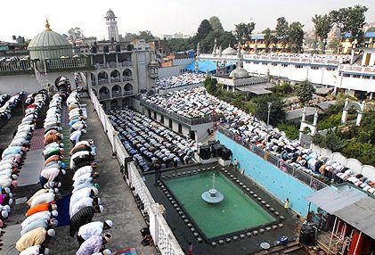 la moschea di kathmandu