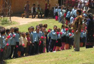 incontro con le scuole a Sarsyurkarka