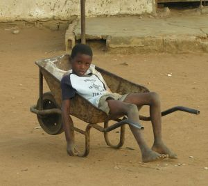 bambino mozambico