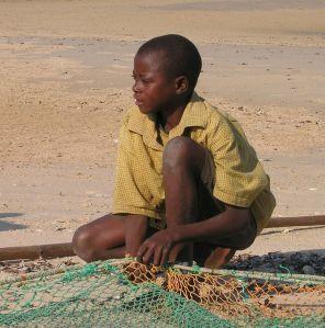 vilankulos bambino-pescatore