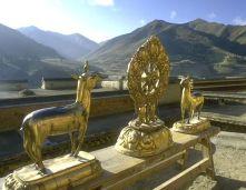 la Ruota del Dharma-Tibet