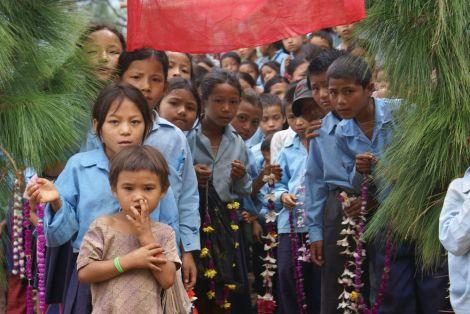 scuola meche, kavre, nepal