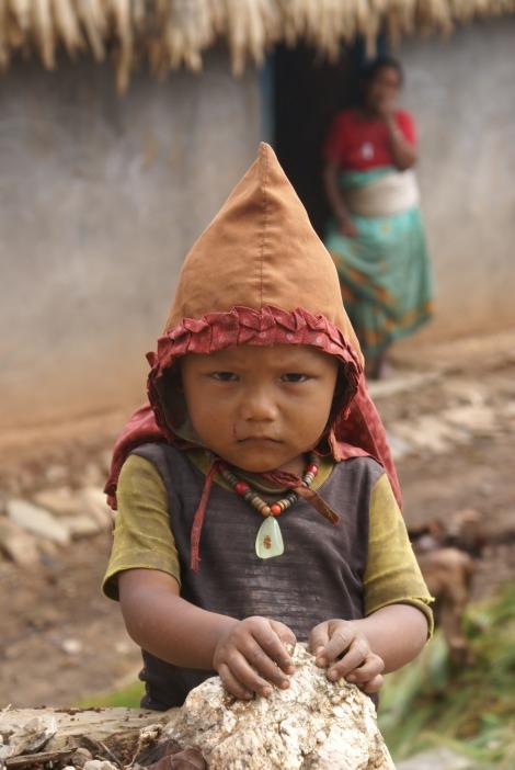 tamang child-kavre-nepal