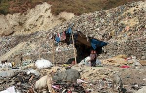spazzatura, trishuli-nepal