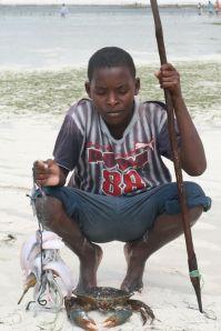 bambino pescatore, tanzania