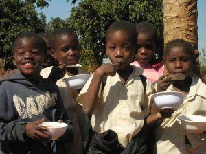 bammbini, scuola Antigos, Mozambico