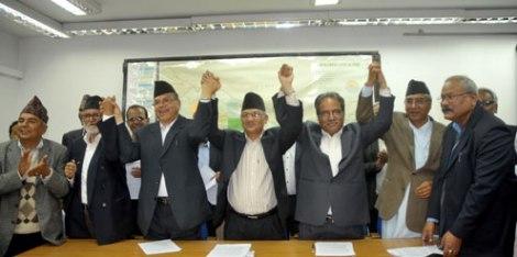 politici nepalesi di Bhaswor Oiha