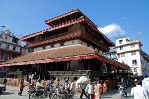 Kathmandu Durbar Square 04 01 Kasthamandap Temple