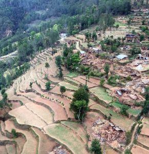 villaggi nepal terremoto