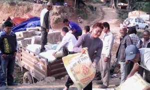 kavre, Timal,  Nepal terremoto