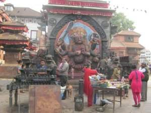 Kalo bhairav, Hanuman Dhoka,  kathmandu nepal