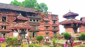 gorkha Durbar,  nepal terremoto