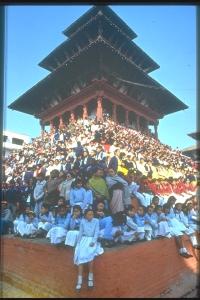 shiva temple ora distrutto Kathmandu basantapur