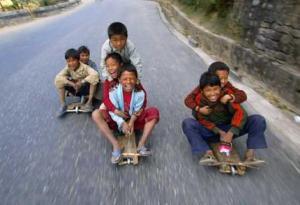 kathmandu bloccata