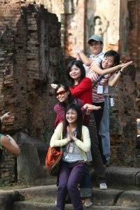 turisti cinesi a kathmandu